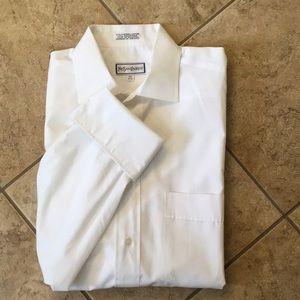 Yves Saint Laurent White French Cuff Shirt